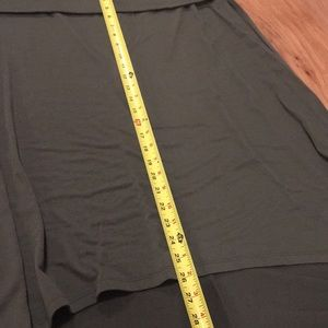 Mossimo Supply Co. Skirts - Mossimo olive green fold over high low skirt